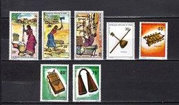 Congo   1975 .  Y&T  Nº   387/389-390/393   *   Sin Goma - República Democrática Del Congo (1964-71)