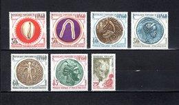 Congo   1975 .  Y&T  Nº   394/399-400   *   Sin Goma - República Democrática Del Congo (1964-71)