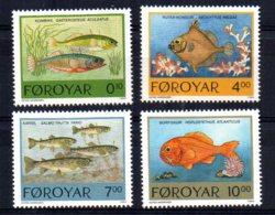 Faroe Islands - 1994 - Fishes - MNH - Féroé (Iles)