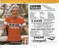 652 - CYCLISME - WIELRENNEN - MAERTENS FREDDY - Cyclisme