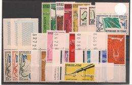 TCHAD  Années 1961/62  N° Y/T :63/82** - Tchad (1960-...)