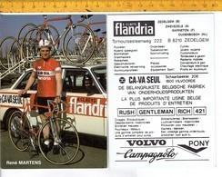 655 - CYCLISME - WIELRENNEN - MARTENS RENE - FLANDRIA - Ciclismo