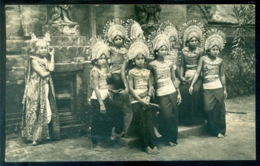 Nederlands Indië 1938 Ansichtkaart Uit Denpasar Bali Per Luchtpost Met NVPH 196 - Indonésie