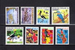 Congo   1976-77 .  Y&T  Nº   437/439-441/443-444/445   *   Sin Goma - República Democrática Del Congo (1964-71)