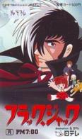 Carte Prépayée Japon * MANGA * TEZUKA - BLACK JACK   (16.436)  COMIC * ANIME Japan Prepaid Card * CINEMA * FILM - Comics