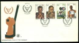 Bophuthatswana 1981 FDC International Year Of The Disabled - Bophuthatswana