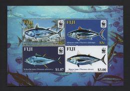 WWF - FIJI - FISHES - 2004 - 4 V. - MNH  - MARINE LIFE - - W.W.F.