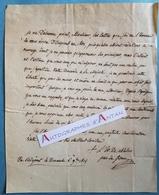L.A.S 1814 Antoine Jules De CLERMONT TONNERRE Evêque De Châlons - Pair De France - Anspach - Lettre Autographe Bishop - Autographes