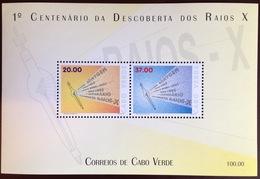 Cape Verde Cabo Verde 1995 X-Ray Discovery Minisheet MNH - Cap Vert