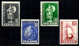 Islandia Nº 182/85 Usado - 1918-1944 Unabhängige Verwaltung