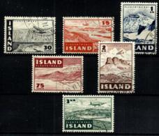 Islandia A-21/26  En Usado - Poste Aérienne
