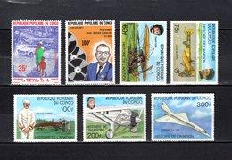 Congo   1977 .  Y&T  Nº   469-470-471/475   *   Sin Goma     ( 475  Usado ) - República Democrática Del Congo (1964-71)
