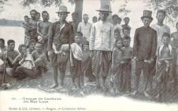 Laos - Groupe De Laotiens Du Bas Laos - Laos