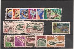 TCHAD  Année 1965 Complète   N° Y/T : 104/118*/** - Tchad (1960-...)