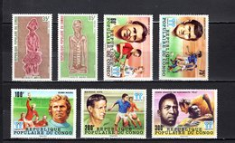 Congo   1978 .  Y&T  Nº   484/485-486/490   *   Sin Goma - República Democrática Del Congo (1964-71)