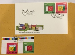 FDC Vietnam Viet Nam Cover 2018 : NEW YEAR OF PIG 2019 - Sent By Other FDC - Vietnam