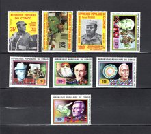 Congo   1978 .  Y&T  Nº   491/493-494/498   *   Sin Goma - República Democrática Del Congo (1964-71)