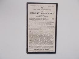 Oud Bidprentje: August VANHEVEL Zoon V.Emiel & Leonie OLDERS, Ghistel 13/7/1892 - 18/12/1920 - Obituary Notices