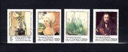 Congo   1978 .  Y&T  Nº   520/523   *   Sin Goma - República Democrática Del Congo (1964-71)