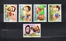 Congo   1978 .  Y&T  Nº   524/528   *   Sin Goma - República Democrática Del Congo (1964-71)