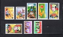 Congo   1978-79 .  Y&T  Nº   529/531-533-538/539-540/541   *   Sin Goma - República Democrática Del Congo (1964-71)