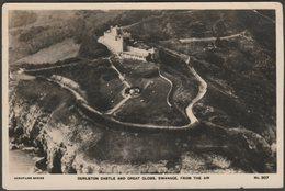 Durlston Castle And Great Globe, Swanage, Dorset, C.1920s - Aerofilms RP Postcard - Swanage