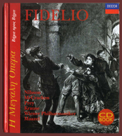 """B-36692 Opera. Beethoven. """"Fidelio"""". Music Books [in Greek] + CD [Decca]. 64 Pages. - Livres, BD, Revues"""