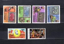 Congo   1979 .  Y&T  Nº   544/547-548-549   *   Sin Goma - República Democrática Del Congo (1964-71)