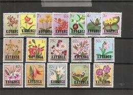 Katanga - Fleurs  ( 23/39 XXX -MNh) - Katanga