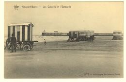 #10602[Postkaart] Nieuport Bains. Les Cabines Et L'Estacade. Star, 1412, Héliotypie De Graeve, Gand. Nieuwpoort - Nieuwpoort