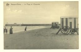 #10603[Postkaart] Nieuport Bains. La Plage Et L'Estacade. Star, 1407, Héliotypie De Graeve, Gand. Nieuwpoort Strand - Nieuwpoort