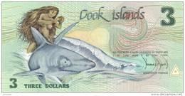 COOK ISLANDS  P. 3a 3 D 1987 UNC - Cook