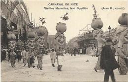 LOT DE 10 CARTES ANCIENNES DU CARNAVAL DE NICE - Cartes Postales