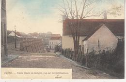 Evere - Vieille Route De Cologne, Vue Sur Les Forifications - Carte Couleur - Evere