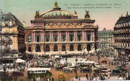 Paris - Opera Et La Station Du Metro - Arrondissement: 01