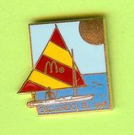 Pin's Mac Do McDonald's Orlando Voilier - 6BB06 - McDonald's