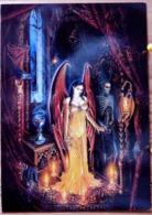 ALCHEMY RITES OF UNDEATH RITES D'IMMORTALITE SORCIERE ANGE DEMON FEMME DEMI NUE FEE SCAN R/V - Contes, Fables & Légendes