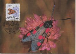 Allemagne Berlin Carte Maximum 1984 Insectes 674 - [5] Berlijn
