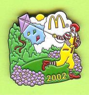 Pin's Mac Do McDonald's Clown Ronald Cerf Volant - 6BB08 - McDonald's