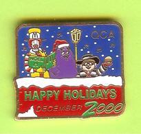 Pin's Mac Do McDonald's Happy Holidays - 6BB09 - McDonald's
