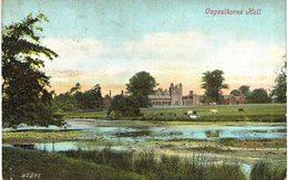 Carte Postale Ancienne De CAPESTHORNE HALL - England