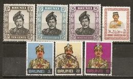 Brunei 1974 Sultan Obl - Brunei (1984-...)