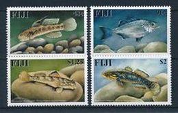 FIJI  - 2002 -  FISHES - PESCI - MARINE LIFE - 4  V. -  MNH - - Fische