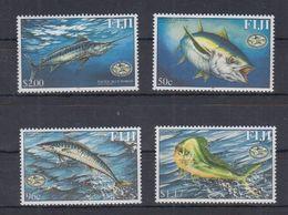 FIJI  - 2001 -  FISHES - PESCI - MARINE LIFE - 4  V. -  MNH - - Fische