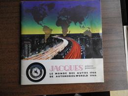 Album Jacques : Le Monde Des Autos 1966 - Auto