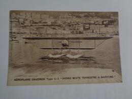 "Aéroplane Caudron ,type G-3  ""hydro Mixte Terrestre & Maritime "" - 1919-1938: Entre Guerres"