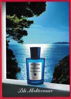 CARTE POSTALE ACQUA DI PARMA : BLV MEDITERRANEO - Perfume Cards