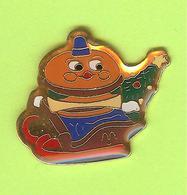 Pin's Mac Do McDonald's Hamburger Traîneau - 6BB17 - McDonald's