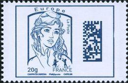 France Marianne De Ciappa Et Kawena N° 4975,** Dadamatrix Le 20 Grammes Bleu Europe - 2013-... Marianne Of Ciappa-Kawena