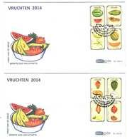 Aruba FDC E200 Zonder Adres. Vruchten, Fruits, Date Of Issue: 26-9-2014 - Curaçao, Nederlandse Antillen, Aruba